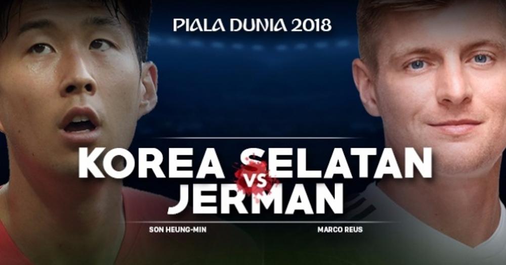 Prediksi, Line Up Pemain & Live Streaming Piala Dunia 2018 Hari Ini: Korea Selatan vs Jerman, Juara Bertahan Wajib Menang