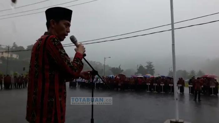 Wakil Bupati Bolsel Minta Pimpinan SKPD Segera Bayar Gaji Tenaga Honor