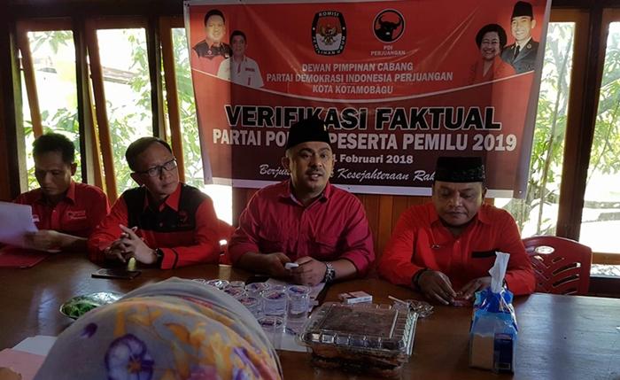 DPC PDIP Kotamobagu Tunggu Rekom DPP Daftarkan Caleg ke KPU