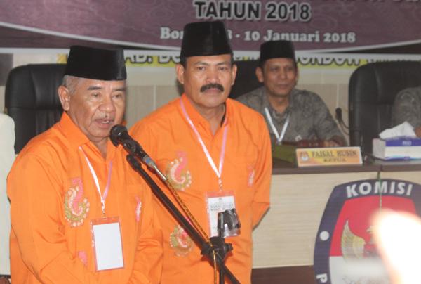Paslon Nomor Urut 3 Hamdan-Murianto Gugat KPU Bolmut ke MK