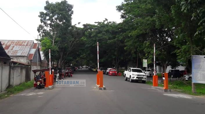 Parkir Masuk Rumah Sakit Kotamobagu Menggunakan Automatic Cutting Ticket