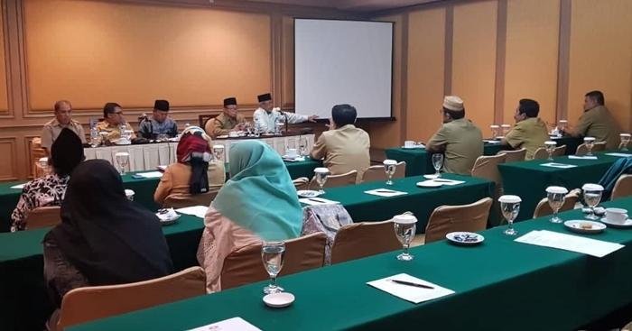 Mayulu Pimpin Rapat Persiapan MTQ Tingkat Nasional di Medan