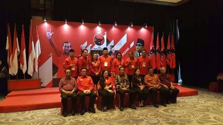 H2M Ikut Pembakalan Caleg, Jokowi dan Megawati Tampak Hadir