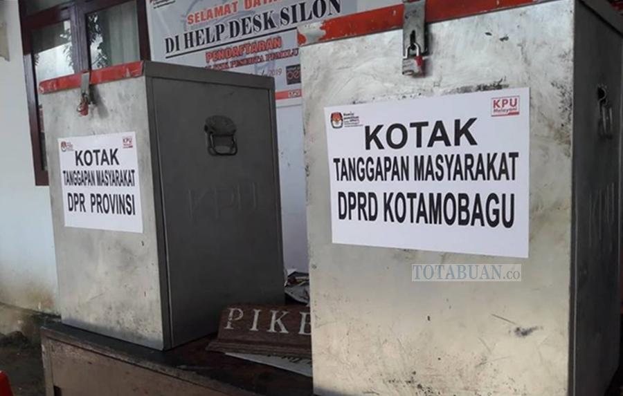 Soal Tanggapan Warga, KPU Kotamobagu Tunggu Balasan Surat dari Dua Parpol