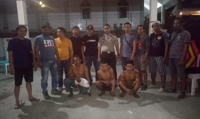 Mangkir dari Panggilan, Tiga Tersangka asal Desa Langagon Ditangkap Polisi