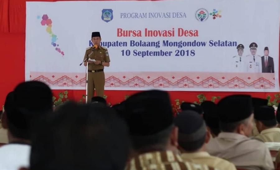 Kabupaten Bolsel Gelar Inovasi Desa Pertama di Sulut