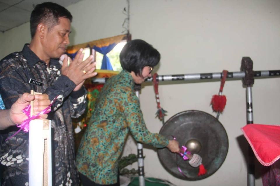 Bupati Bolmong Resmikan Kampung KB di Desa Solimandungan