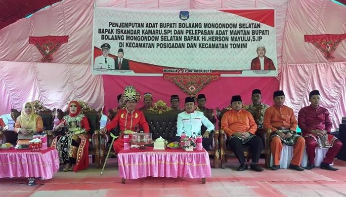 Herson Mayulu Dapat Gelar Adat Temey Molamahu Oleh Masyarakat Gorontalo