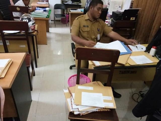BKPP Bolmong Mulai Verifikasi Berkas Pendaftaran CPNS