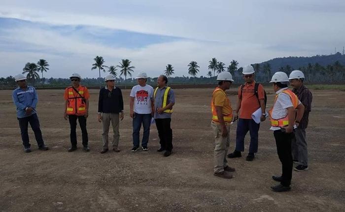 Itjen Kementerian Perhubungan RI Audit Pembangunan Bandara Bolmong