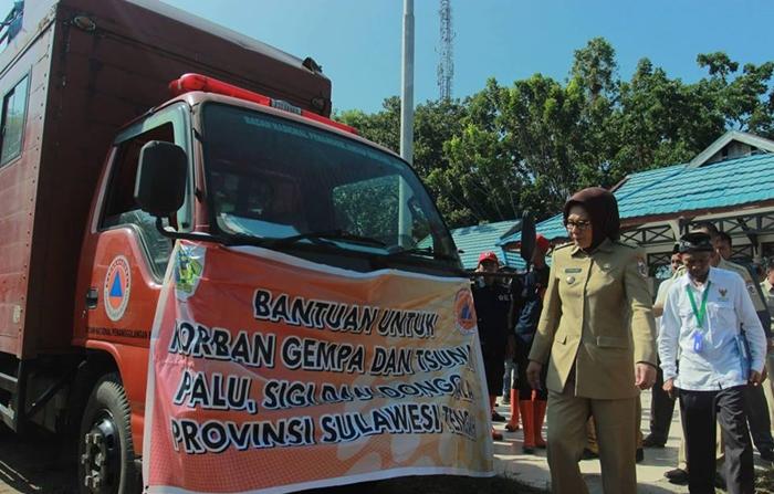 Pemkot Kotamobagu Kirim Logistik dan Tim Relawan ke Sulteng