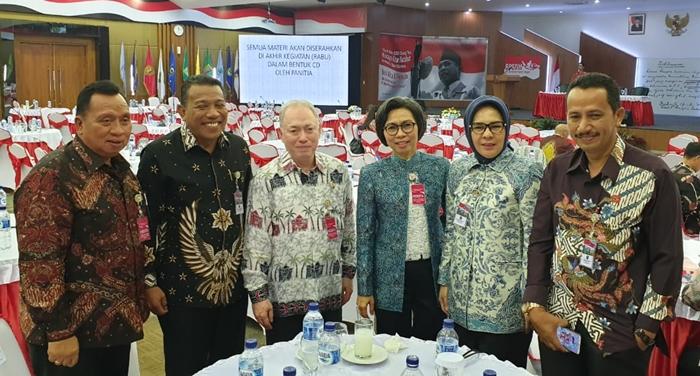 Bupati Bolmong Ikut Pembekalan Kepemimpinan