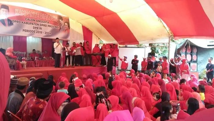 Kampanye Dialogis di Tanoyan, Herson Ingatkan Jokowi-Amin Harga Mati