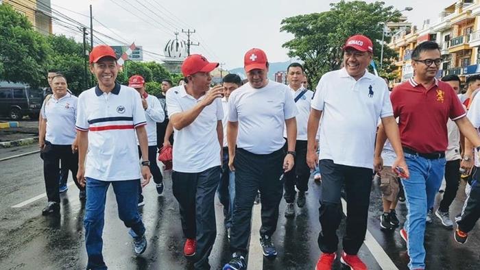 Bupati Bolsel Hadiri Pekan Nasional Keselamatan Jalan Bersama Gubernur Sulut