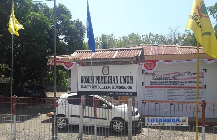 KPUD Bolmong Validasi Surat Suara Pileg 2019