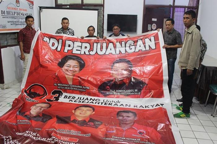 KPU Kotamobagu Mulai Salurkan APK ke Parpol Peserta Pemilu