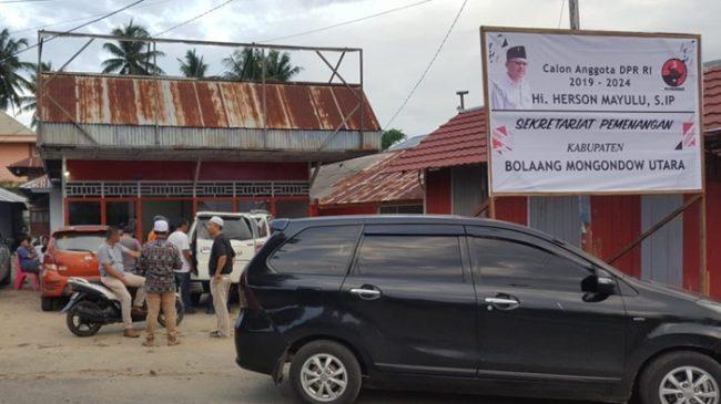 Jaga TPS, Tim Herson Mayulu Kabupaten Bolmut Siapkan 625 Relawan