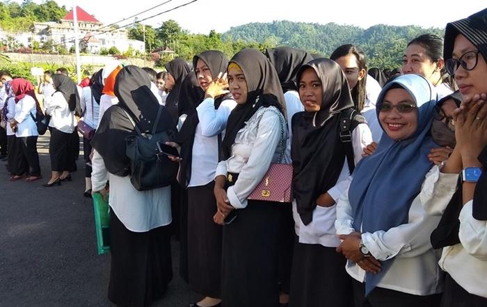 Iskandar: CPNS Yang Lulus Wajib Ikut Apel Setiap Hari