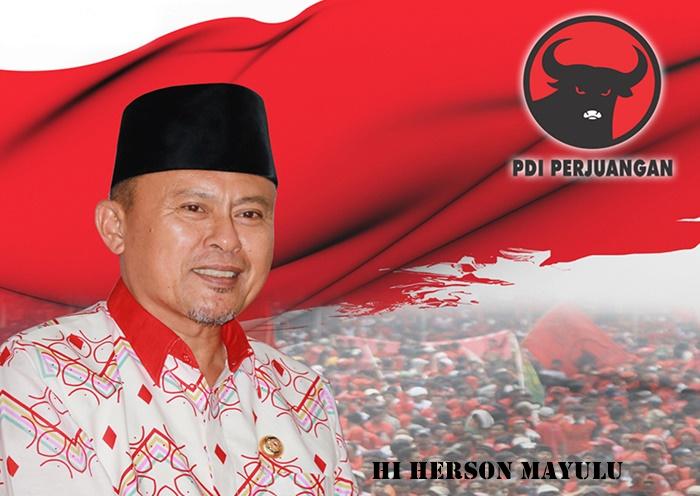 Herson Mayulu Usung Jargon Gotong Royong Bersama Rakyat Untuk Sulut Hebat