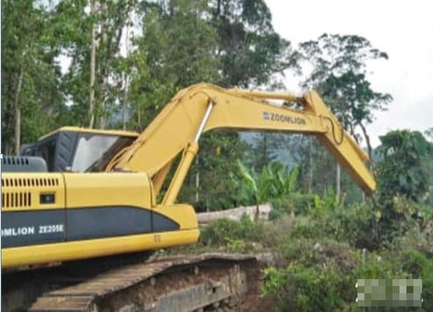 Kawasan Hutan Lindung di Mobungayom Diduga Dibabat Untuk Jalan Desa