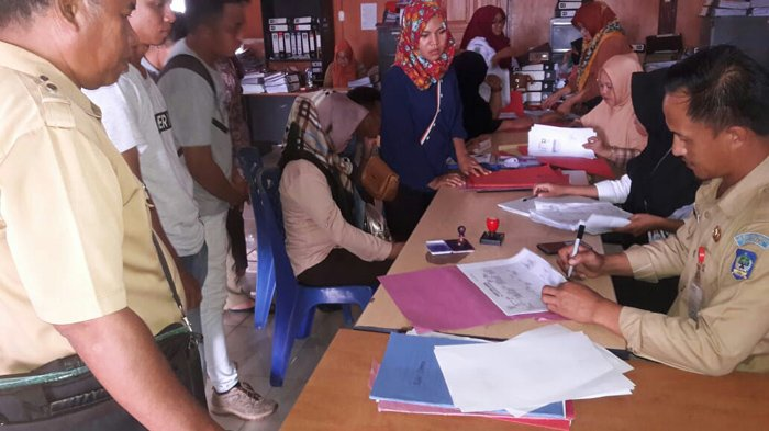 Dukcapil Bolsel Mulai Proses Surat Pindah CPNS Dari Luar Daerah
