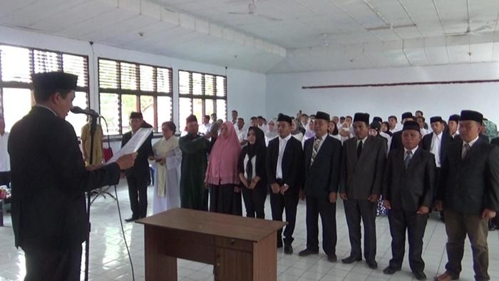 KPU Kotamobagu Lantik dan Kukuhkan PPK dan PPS