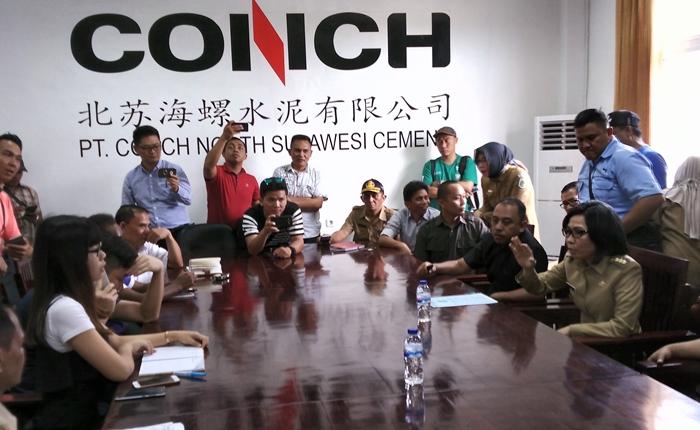 Bupati Bolmong Kesal Janji  PT Conch
