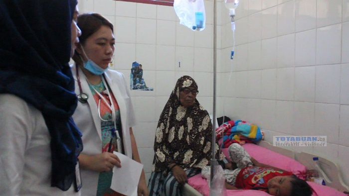 RSUD Kotamobagu Rawat Sejumlah Anak Terserang DBD