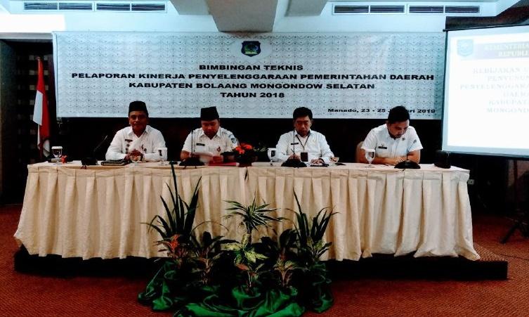 Pemkab Bolsel Tunggu Hasil Penilaian LPPD Dari Kemendagri