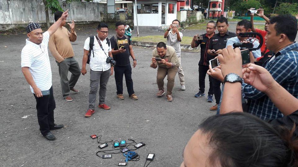 Tak Diberikan Kesempatan Wawancara ke Kapolda, Sejumlah Wartawan Protes
