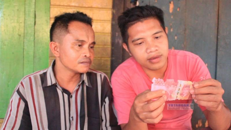 Uang Palsu Pecahan 100 Ribu Ditemukan di Pasar Serasi Kotamobagu