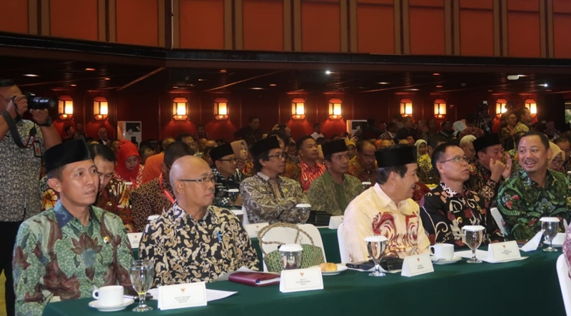 Hadiri Rapat Kerja Nasional Bolsel Deklarasi Pengurangan Sampah Plastik