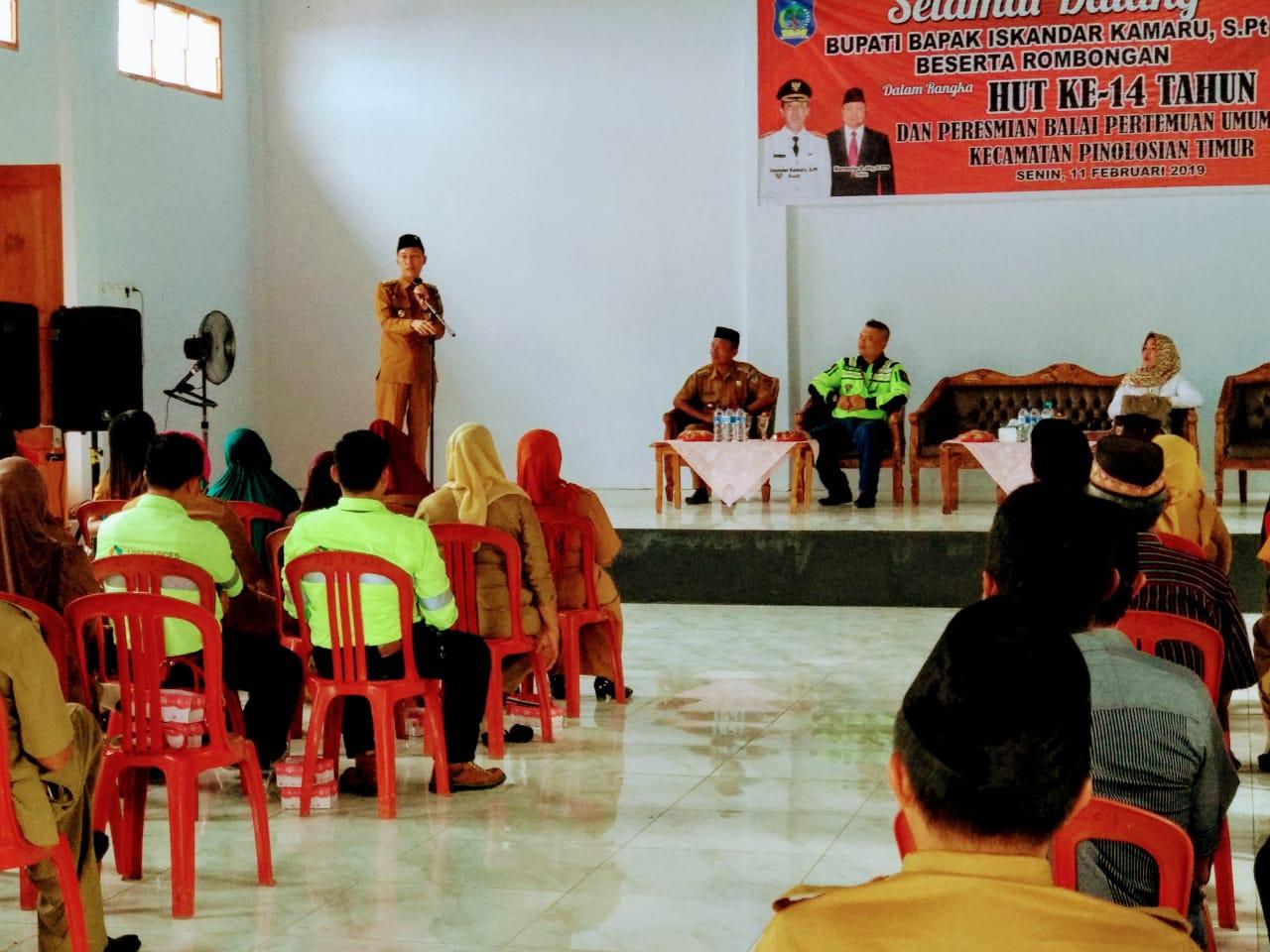 JRBM Kucur Tujuh Ratus Juta Untuk Pembagunan BPU di Desa Dumagin B