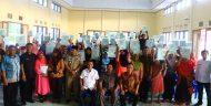 226 Kepala Keluarga di Kecamatan Tutuyan Boltim Menerima Sertifikat Tanah