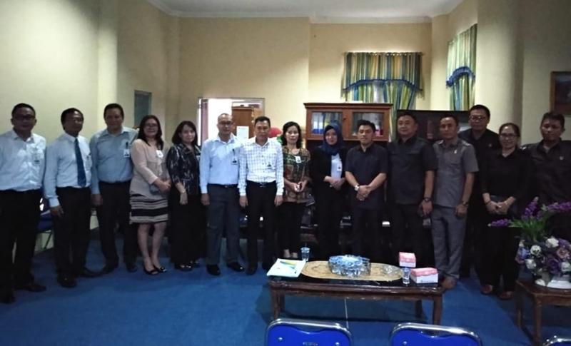Bank SulutGo dan BNI Memanas Saat Hearing di Kantor DPRD Bolmong