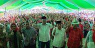 Ratusan Relawan Herson Mayulu di Dapil Satu Boltim Dilantik