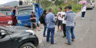 Truck Pengangkut Pasir Besi Dicegat Aparat