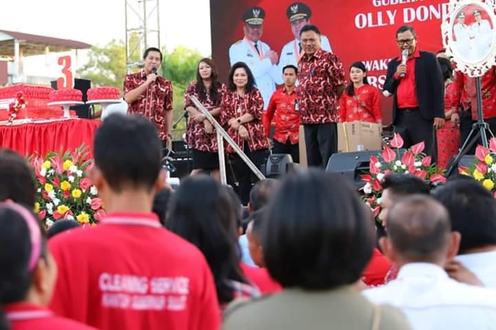 Hadiri Acara Tiga Tahun Kepemimpin OD-SK, Yasti: Bolmong Butuh Perhatian dari Pemprov Sulut
