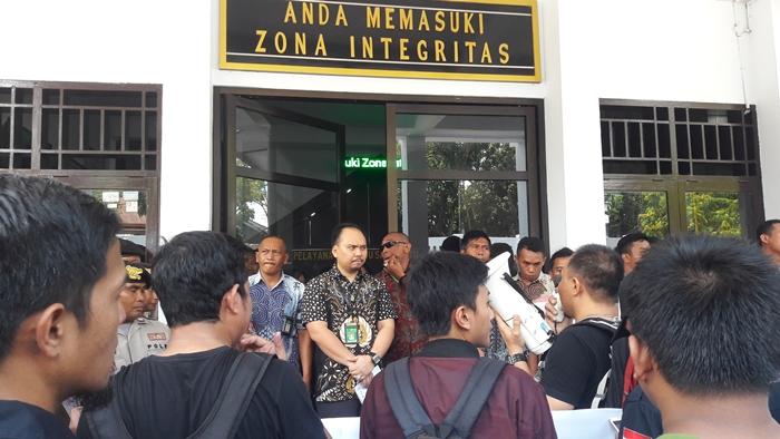 Pengadilan Kotamobau Minta Wartawan Masukan Nota Pembelaan