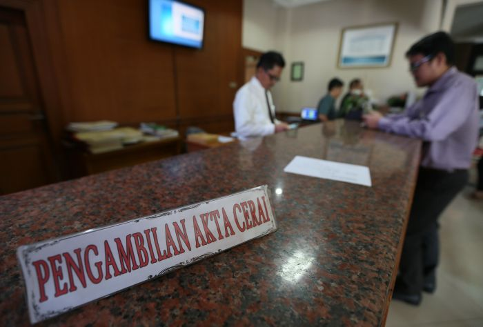 Setahun Angka Perceraan di Bolmong Capai 103 Kasus
