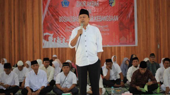 Diundang Cabang Dinas Kabupaten Bolmut, Herson Mayulu Sosialisasi Empat Pilar