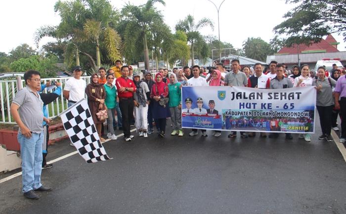 Perayaan HUT Kabupaten Bolmong ke 65 Mulai Digelar