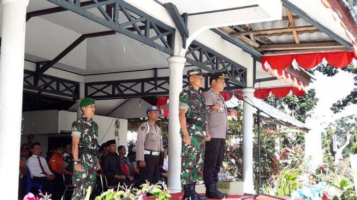 TNI Polri Jamin Pemilu 2019 di BMR Berjalan Aman