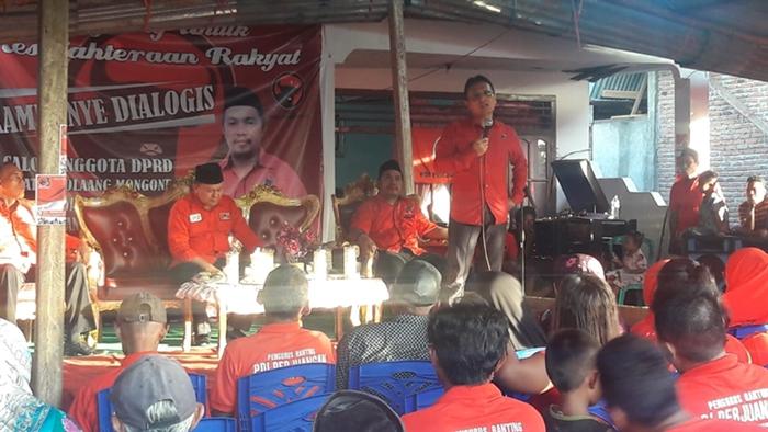 Hasil Survei Internal PDIP Sulut, Hi Herson Mayulu Paling Tinggi