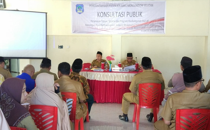 RKPD Kabupaten Bolsel Tahun 2020 Fokus Penanggulangan Kemiskinan