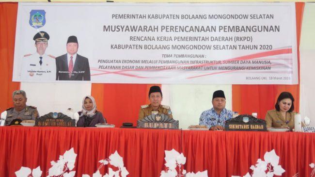 Iskandar: Ekonomi di Bolsel Setiap Tahun Terus Tumbuh