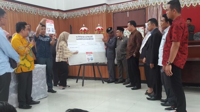 Dedi Abdul Hamid Raih 18 Suara Pemilihan Wakil Bupati Bolsel
