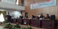 Lima Fraksi DPRD Boltim Menerima LKPJ Bupati Tahun Anggaran 2018