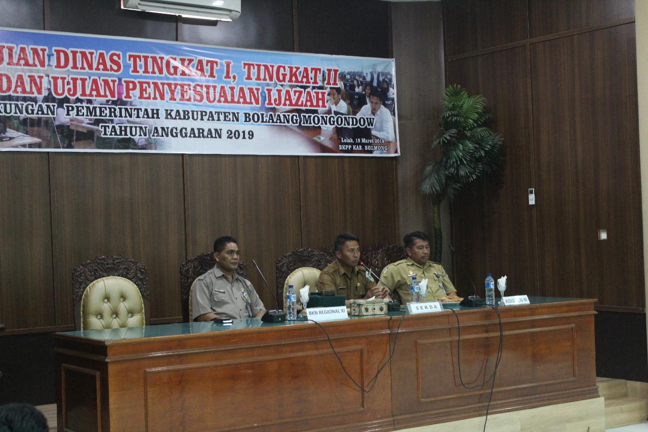 Sejumlah PNS Bolmong Terancam Sanksi Disiplin Berat