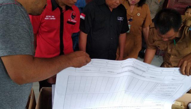 Saksi PDIP Protes, Ada C1 Plano Ganda Saat Pleno PPK Kecamatan Dumoga